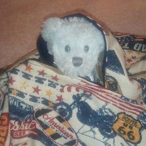 Cottage Rose Baby Blankets